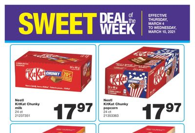 Wholesale Club Sweet Deal of the Week Flyer March 4 to 10