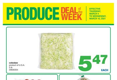 Wholesale Club (West) Produce Deal of the Week Flyer March 4 to 10
