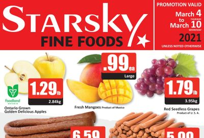 Starsky Foods Flyer March 4 to 10