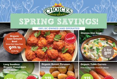 Choices Market Flyer March 4 to 10