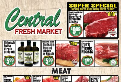 Central Fresh Market Flyer March 4 to 11