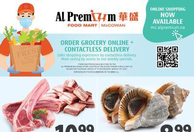 Al Premium Food Mart (McCowan) Flyer March 4 to 10