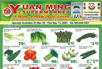 Yuan Ming Supermarket Flyer March 5 to 11