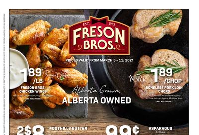 Freson Bros. Flyer March 5 to 11