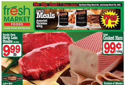 Fresh Market Foods Flyer March 5 to 11