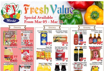 Fresh Value Flyer March 5 to 11