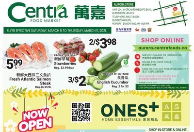 Centra Foods (Aurora) Flyer March 5 to 11