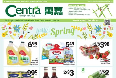 Centra Foods (North York) Flyer March 5 to 11