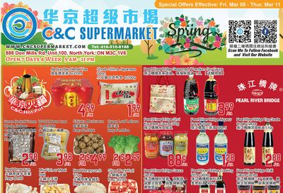 C&C Supermarket Flyer March 5 to 11