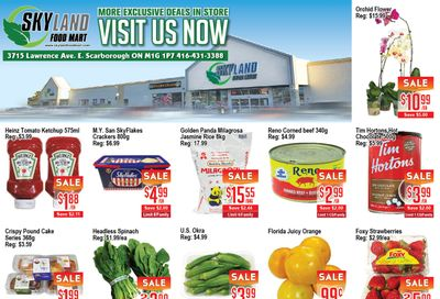 Skyland Food Mart Flyer March 5 to 11