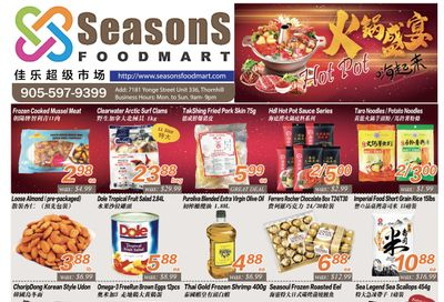 Seasons Food Mart (Thornhill) Flyer March 5 to 11