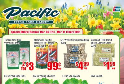 Pacific Fresh Food Market (North York) Flyer March 5 to 11