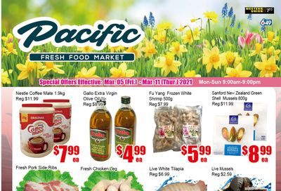 Pacific Fresh Food Market (Pickering) Flyer March 5 to 11