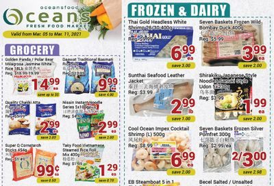 Oceans Fresh Food Market (Mississauga) Flyer March 5 to 11