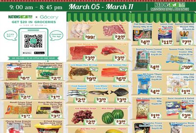 Nations Fresh Foods (Mississauga) Flyer March 5 to 11
