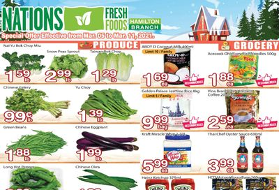 Nations Fresh Foods (Hamilton) Flyer March 5 to 11
