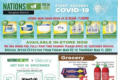 Nations Fresh Foods (Vaughan) Flyer March 5 to 11
