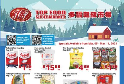 Top Food Supermarket Flyer March 5 to 11