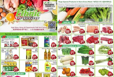 Ethnic Supermarket Flyer March 5 to 11