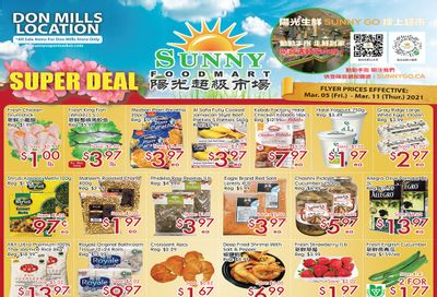 Sunny Foodmart (Don Mills) Flyer March 5 to 11