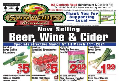 Sun Valley Market Flyer March 5 to 11