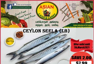 Asian Cash & Carry Flyer March 5 to 11