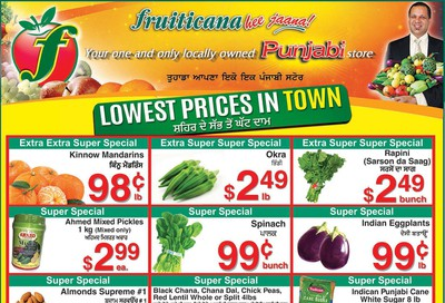 Fruiticana (Edmonton) Flyer February 14 to 19
