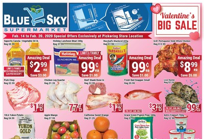 Blue Sky Supermarket (Pickering) Flyer February 14 to 20