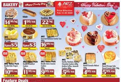 Arz Fine Foods Flyer February 14 to 20