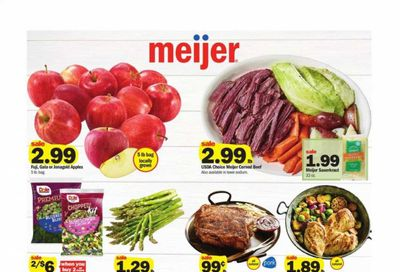Meijer (IL) Weekly Ad Flyer March 7 to March 13