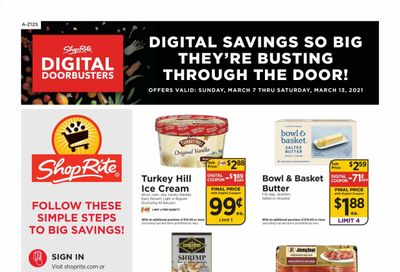 ShopRite (CT, DE, MD, NJ, NY, PA) Weekly Ad Flyer March 7 to March 13