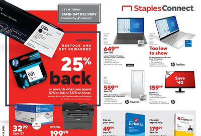 Staples Weekly Ad Flyer March 7 to March 13