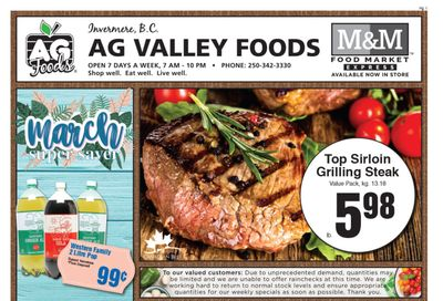AG Foods Flyer March 5 to 11
