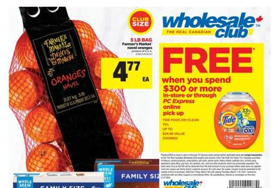 Real Canadian Wholesale Club Flyer March 5 to 11