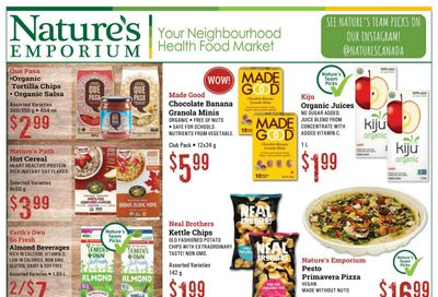 Nature's Emporium Flyer March 5 to 25