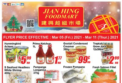 Jian Hing Foodmart (Scarborough) Flyer March 5 to 11