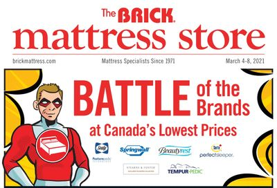 The Brick Mattress Store Flyer March 4 to 8