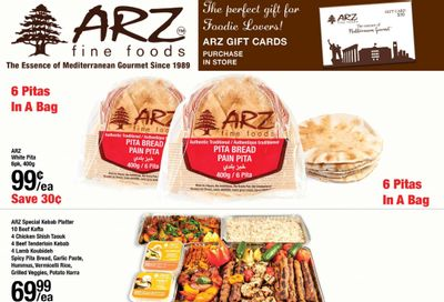 Arz Fine Foods Flyer March 5 to 11