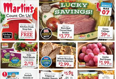 Martin's Weekly Ad Flyer March 7 to March 13