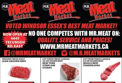 M.R. Meat Market Flyer Match 6 to 13