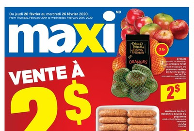 Maxi Flyer February 20 to 26