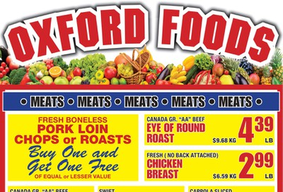 Oxford Foods Flyer February 19 to 25