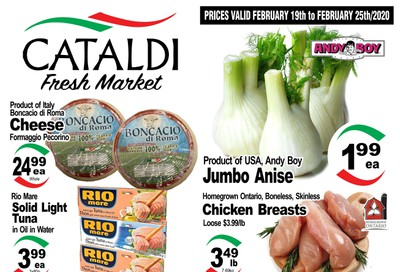 Cataldi Fresh Market Flyer February 19 to 25