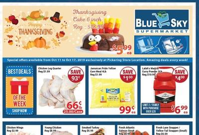 Blue Sky Supermarket (Pickering) Flyer October 11 to 17