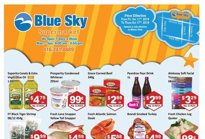 Blue Sky Supermarket (North York) Flyer October 11 to 17