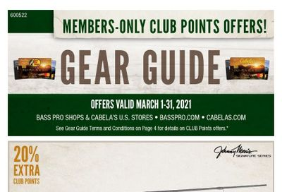 Bass Pro Shops Weekly Ad Flyer March 1 to March 31