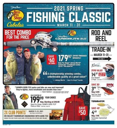 Cabela's Weekly Ad Flyer March 11 to March 31
