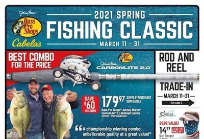 Bass Pro Shops Weekly Ad Flyer March 11 to March 31