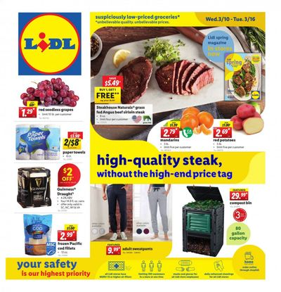 Lidl Weekly Ad Flyer March 10 to March 16