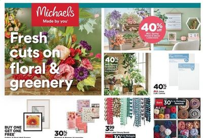 Michaels Weekly Ad Flyer March 7 to March 13